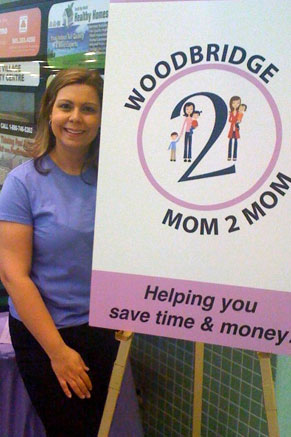 The Mom 2 Mom Sale wouldn't be possible without founder and organizer Sandra Moniz Prencipe, CMP.