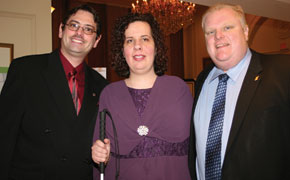Yolanda and Pat Palumbo, Mayor Rob Ford