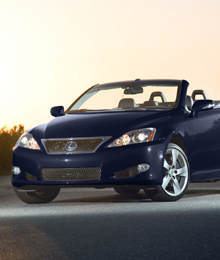 Lexus IS 350C: Take a ride in this luxury compact convertible 