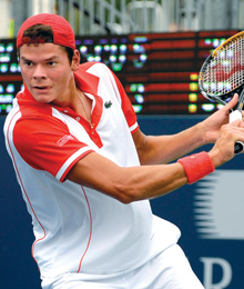 Everybody Loves Milos Raonic: A local tennis star goes global