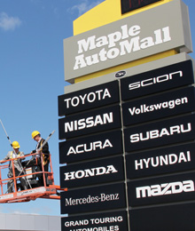 Maple Auto Mall Grand Opening