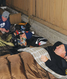 "Covenant House ""Sleep Out"
