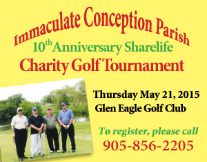 Immaculate Conception Parish Charity Golf Tournament