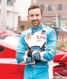 James Hinchcliffe Indy Car driver-ft